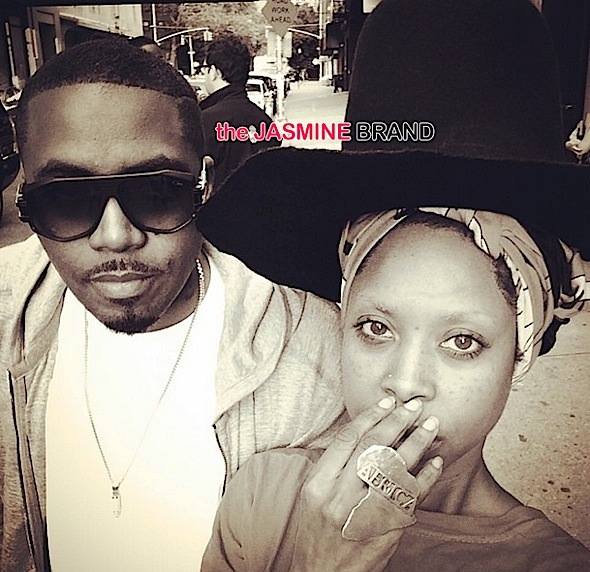 nas-and-erykah-badu-selfie-the-jasmine-brand 2