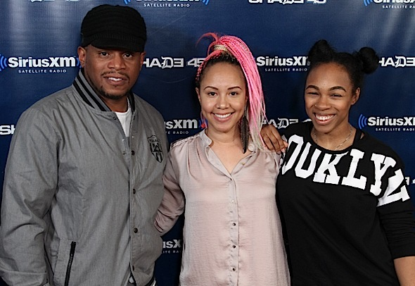 Jasmine Brand Joins Sway in the Morning for Celebrity Wire