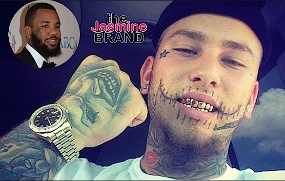 the game manager punches rapper stitches-the jasmine brand