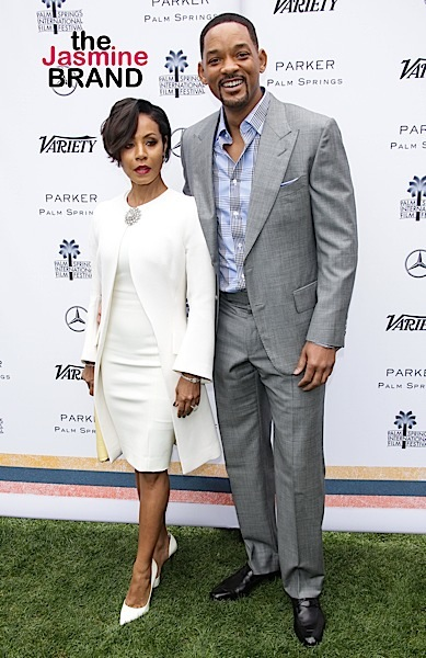 Will Smith, Jada Pinkett Smith arrive at Variety's Creative Impact Awards and 10 Directors to Watch Brunch 2016 Palm Springs International Film Festival