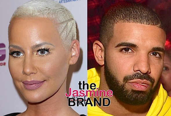 Amber Rose Sparks Rumors She's Crushing On Drake, See the Video!
