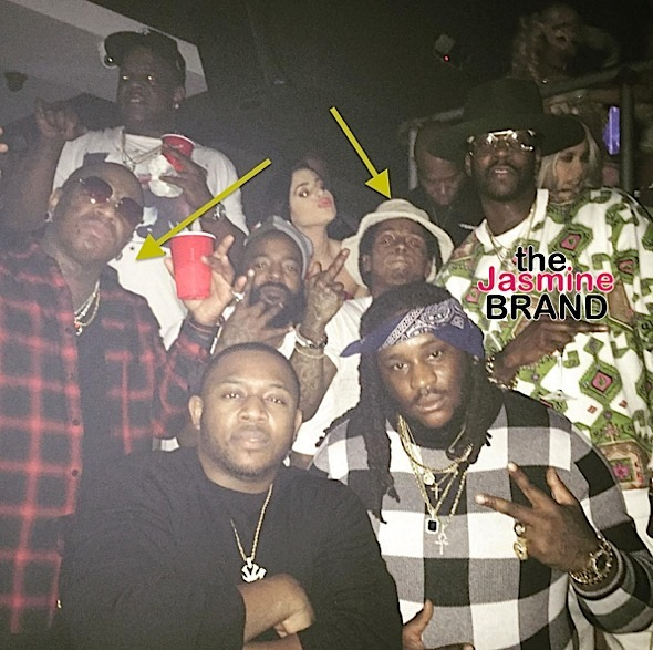 Lil Wayne & Birdman End Feud, Rappers Reunite At Club [Photos]