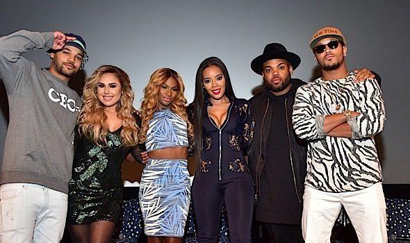 """""""Growing Up Hip Hop"""" ATL Premiere: Porsha Williams, Kenya Moore, Stevie J, Mimi Faust, Joseline Hernandez Attend"""