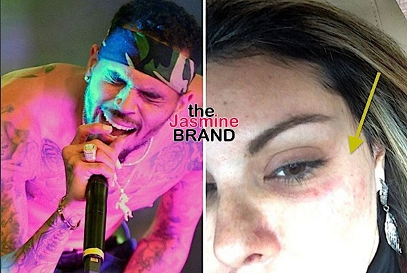 I don't know this b*tch!: Chris Brown Reacts To Woman Accusing Him of Attack [VIDEO]