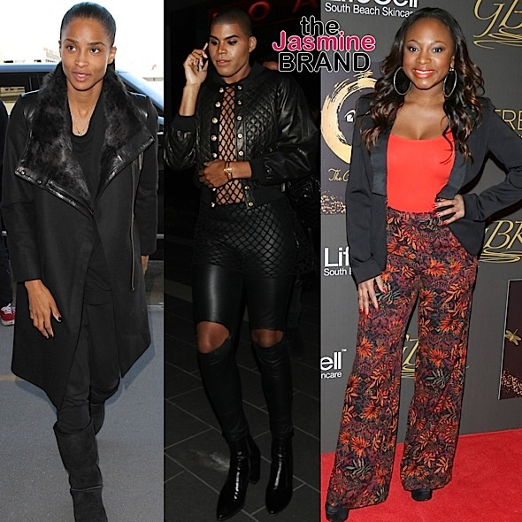 Ciara, EJ Johnson, Naturi Naughton