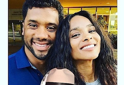 Ciara & Russell Wilson Unbothered by Future Fans Burying Them With Emoji's