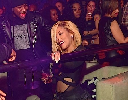 K.Michelle Parties At Prive [Spotted. Stalked. Scene.]