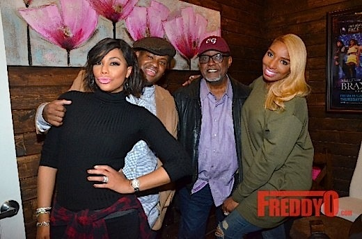 Tamar Braxton & Vincent Herbert Host Viewing Party: Greg & Nene Leakes, Trina & Towanda Braxton, Bob Whitfield Attend [Photos]