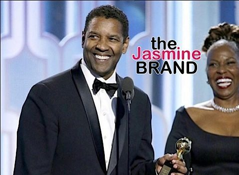 Denzel Washington Honored at Golden Globes, Receives Cecil B. DeMille Award [VIDEO]