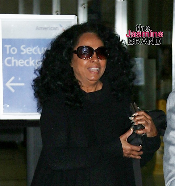 Celebrities Sighted Arriving at LAX Airport on January 1, 2015