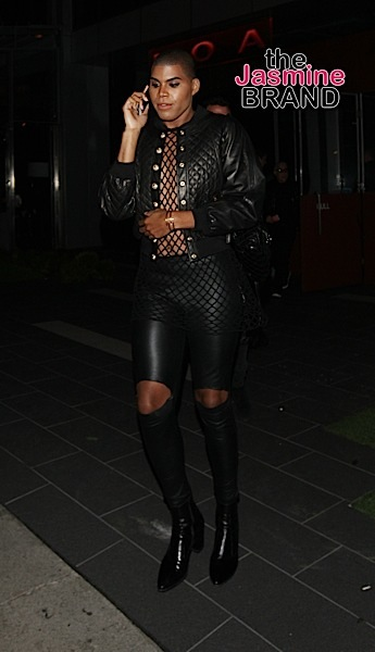 EJ Johnson Leaves Soho House in LA