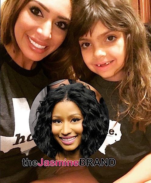 Farrah Abraham's Daughter Calls Nicki Minaj A 'Loser' [Funny or Nah?]