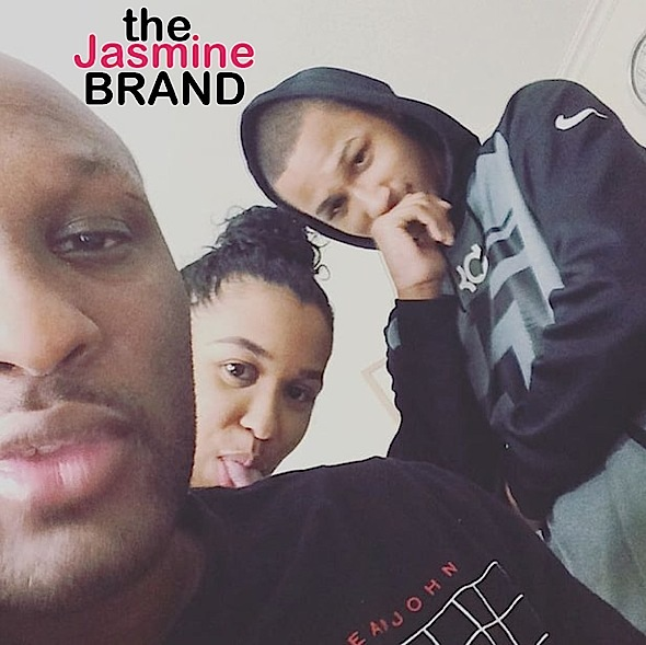 1st Look At Lamar Odom Since Overdose & Hospitalization [Photo]