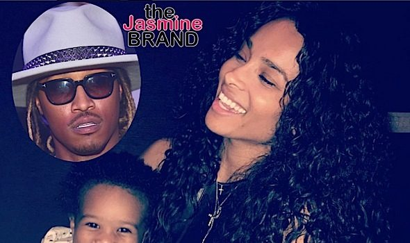 """Future Calls Ciara A """"B*tch"""" For Not Letting Him See Son"""