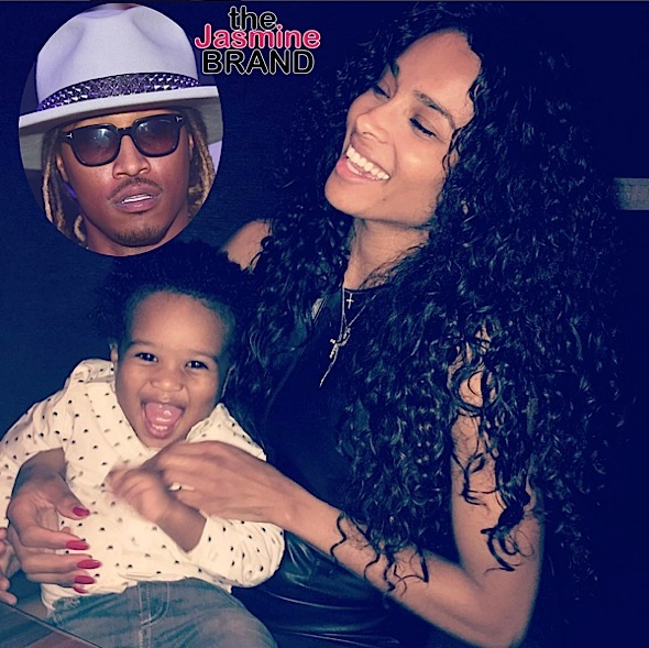 "Future Calls Ciara A ""B*tch"" For Not Letting Him See Son"