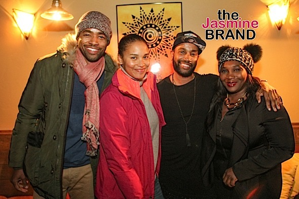 Jay Ellis, Bevy Smith, Joy Bryat, Bille Woodruff, Credit: