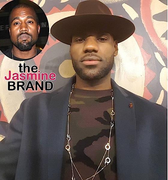 Kanye West Denies Dissing LeBron James-the jasmine brand