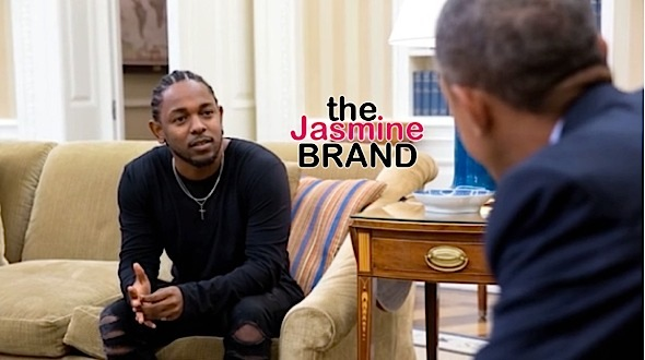 Kendrick Lamar Visits White House President Obama Oval Office-the jasmine brand