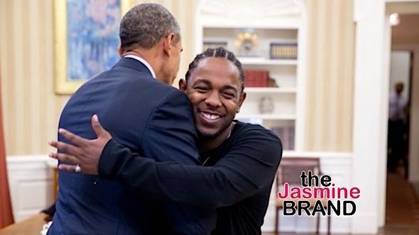 President Obama, Kendrick Lamar