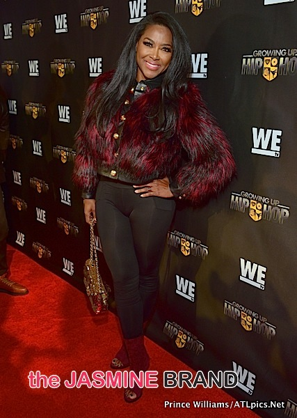 Kenya Moore-Growing Up Hip Hop-the jasmine brand