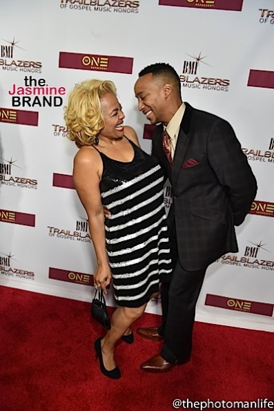 Kim Fields with Husband Christopher