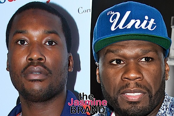 50 Cent vs Meek Mill Beef Ignites On Social Media [Photos]