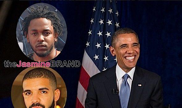 President Obama Says Kendrick Lamar Is Better Than Drake [VIDEO]