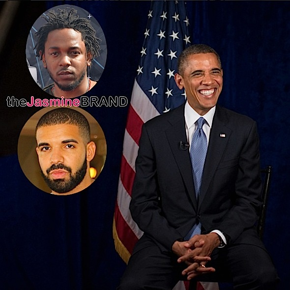President Obama Says Kendrick Lamar Is Better Than Drake [VIDEO]
