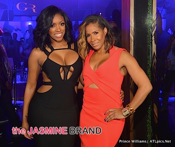 Porsha Williams, Sheree Whitfield, Lyfe Jennings, Christian Keyes, Keith Robinson, Kenny Burns Party At Goldroom [Photos]