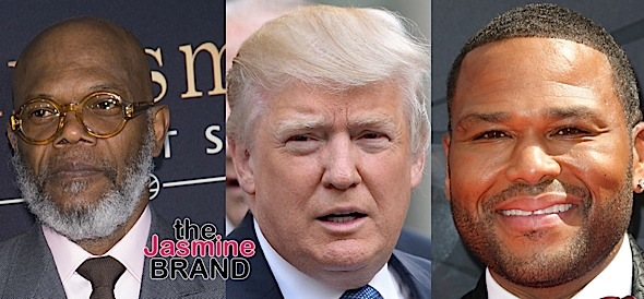 Samuel L. Jackson Vs. Donald Trump Beef Continues, Anthony Anderson Co-Signs Actor [Photos]