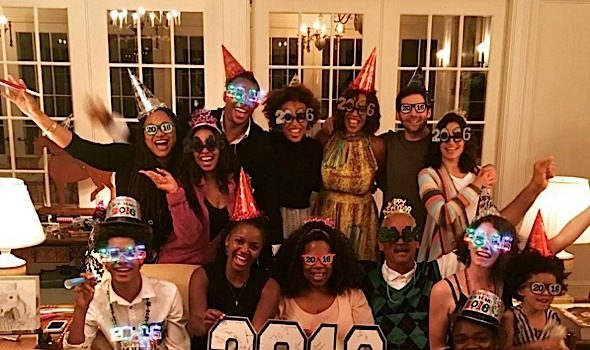 Part Deuce! Celebrities Ring In 2016: Oprah, Diddy, Tamar Braxton, Nicki Minaj, Karrueche Tran, Amber Rose, The Weeknd, Angela Bassett, Kelis [Photos]