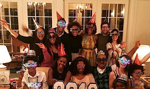Part Deuce! Celebrities Ring In 2016: Oprah, Diddy, Tamar Braxton, Nicki Minaj, Karrueche Tran, Amber Rose, The Weeknd, Angela Bassett, Kelis [Photos]