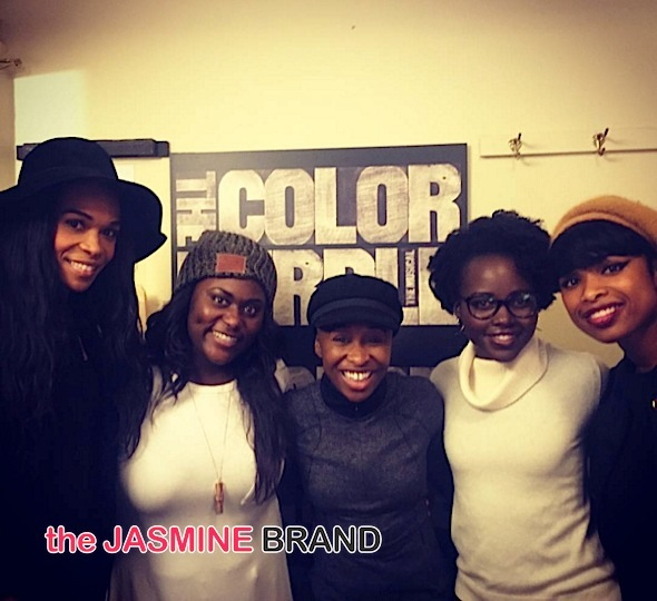 Lupita Nyong'o, Dionne Warwick, Michelle Williams Hit 'The Color Purple' [Photos]