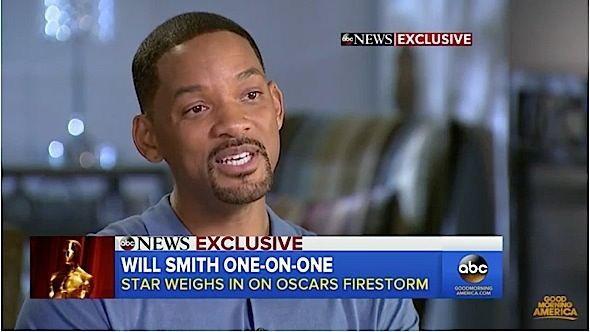 Will Smith: Oscars Are 'Going In the Wrong Direction' [VIDEO]