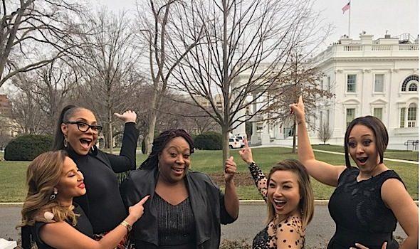 'The Real' Visits White House, Kandi Burruss Is A Breastfeeding Champ, Nicki Minaj Films New Show + Viola Davis, Gabrielle Union