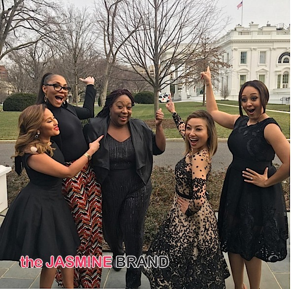 'The Real' Visits White House, Kandi Burruss Is A Breastfeeding Champ, Nicki Minaj Films New Show + Viola Davis, Gabrielle Union