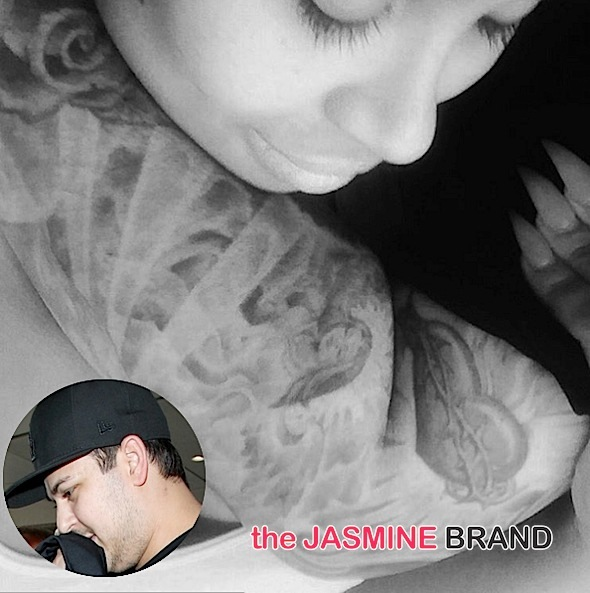 Blac Chyna Dating Rob Kardashian? See the flirty Photo!