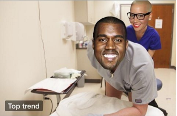#KanyeAnalPlaylist Explodes on Twitter