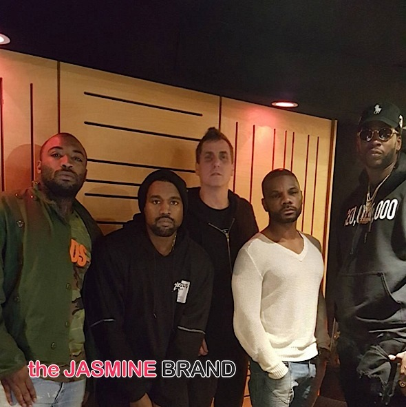 Kanye West Sorta Apologies For Slamming Amber Rose's Son + Hits Studio With Kirk Franklin, Andre 3000