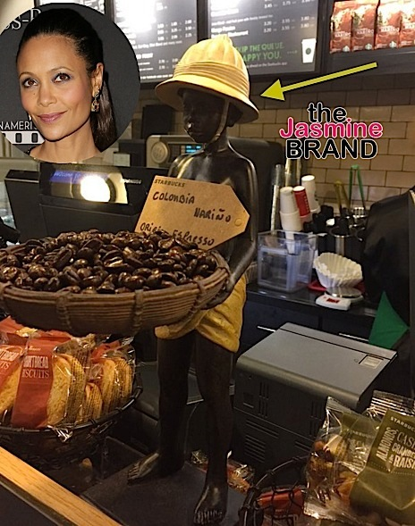 Thandie Newton Calls Starbucks Racist-the jasmine brand