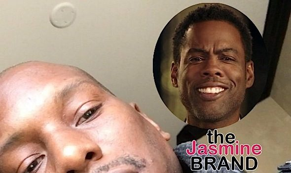 Tyrese Calls Today's Leaders Lazy, Wants Chris Rock To Boycott Oscar's [VIDEO]