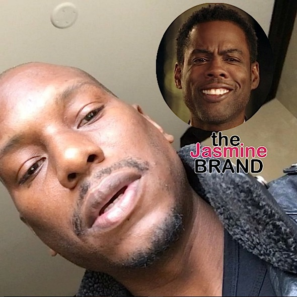 Tyrese Pissed At Chris Rock For Slamming Jada Pinkett-Smith: Shame on you!