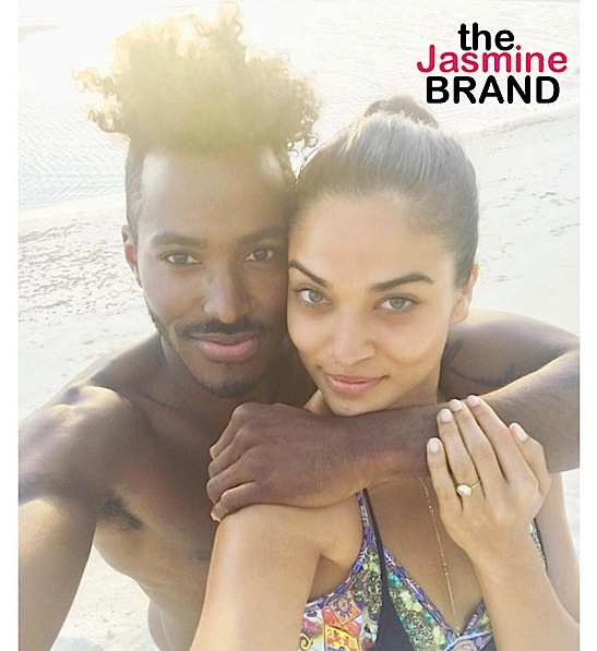 Victoria's Secret Model Shanina Shaik Engaged to DJ Ruckus [Photo]