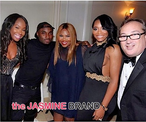 Bianca, producer Mona Scott-Young, Yandy Smith