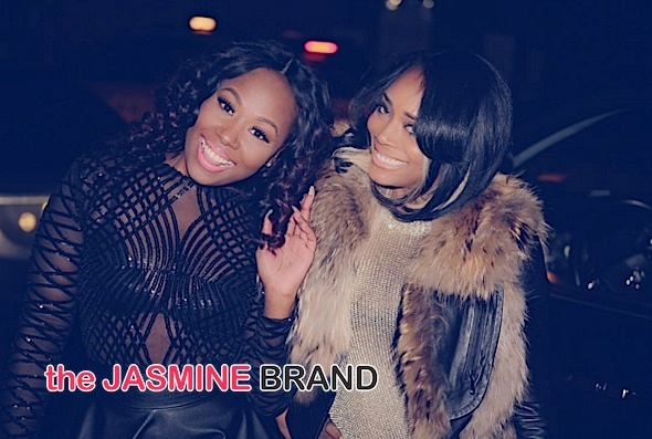 Biance with manager & cast mate, Yandy Smith