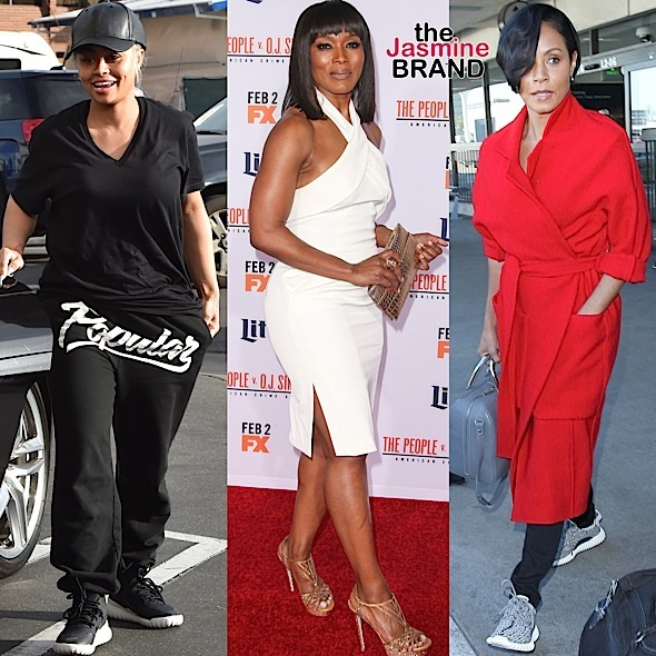 Celebrity Stalking: Jada Pinkett-Smith, Blac Chyna, Angela Bassett, Iggy Azalea, Niecy Nash, Cuba Gooding Jr, Courtney B. Vance