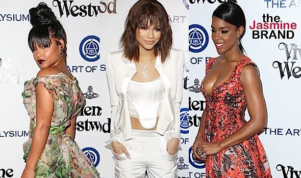 Christina Milian, Zendaya Coleman, Kelly Rowland, Kat Graham Hit Heaven Gala [Photos]