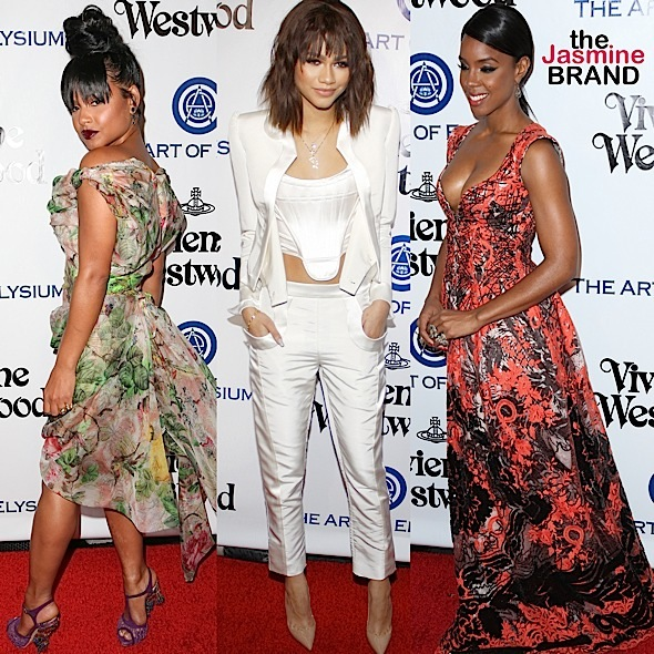 Christina Milian, Zendaya Coleman, Kelly Rowland