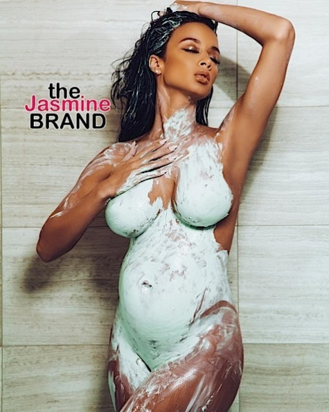 draya michele-maternity pregnancy shoot-the jasmine brand