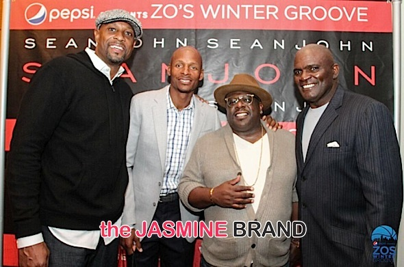 Rick Ross, Cedric the Entertainer, Ray Allen Attend Zo's Winter Groove [Photos]